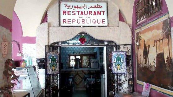 Restaurant de la République : Resto