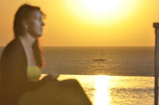Michelangelo Resort and Spa: sunset
