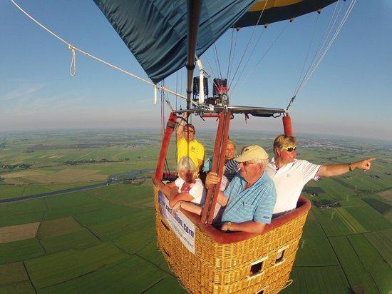 Mand van BAS Ballonvaarten