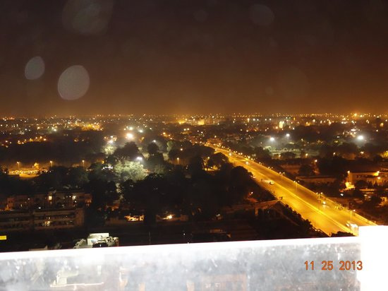The Lalit New Delhi: from the top