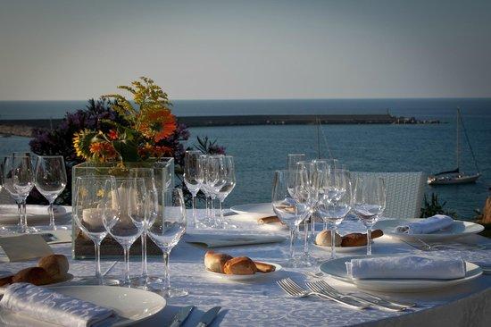 Hotel Le Calette: Highest of standards for the dinner settings