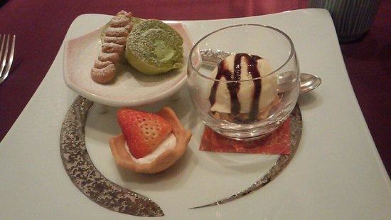 Okura Chiba Hotel : 和食5 最後のデザート