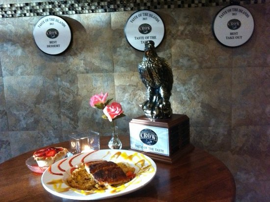 Rosie's Cafe & Grill: Award winning Restaurant Top Honor