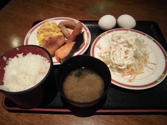 Crown Hills Kanazawa : 朝食