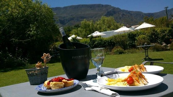 Greyton Lodge: the lunch on request