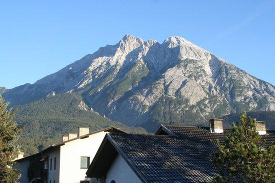 Hotel Tirolerhof : Aussicht von unserem Balkon