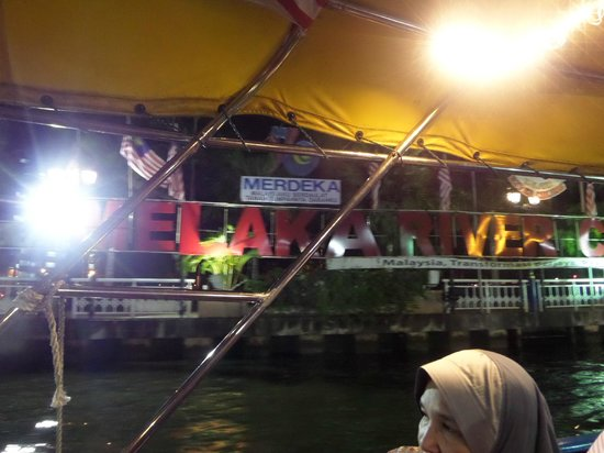 Malacca River : Leaving jetty