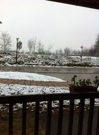 Cascina Scova City Spa: vista balconcino