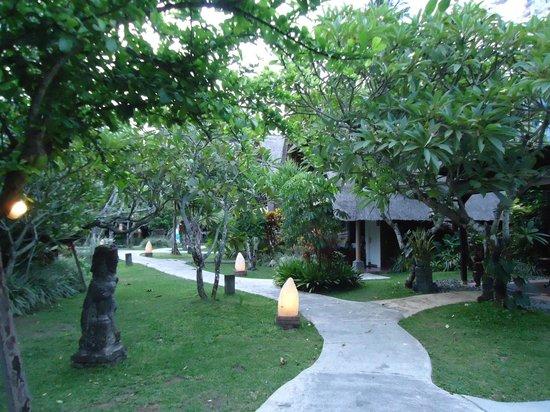 Peneeda View Beach Hotel: pretty greeny