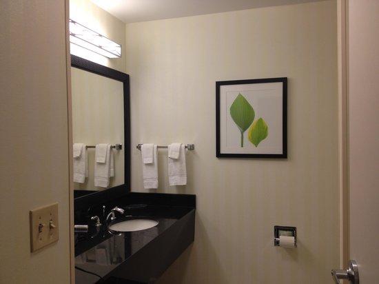 Fairfield Inn & Suites Muskogee : Bathroom