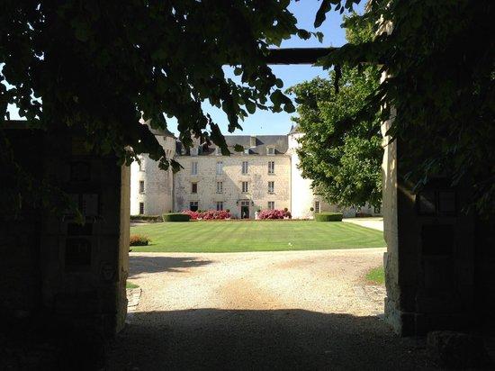 Chateau de Marcay: le parc