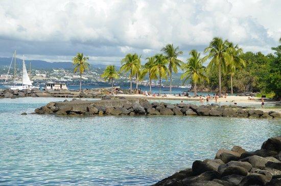 Residence du Village Creole : plage très proche