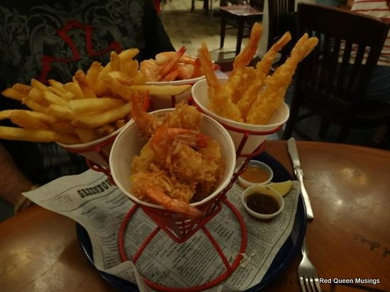 Bubba Gump Shrimp Co: Hot and spicy