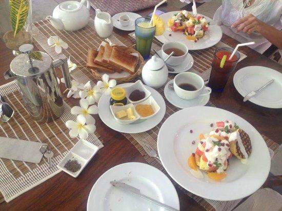Buckingham Place : Breakfast