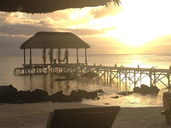 The Oberoi, Mauritius : View from the Beach
