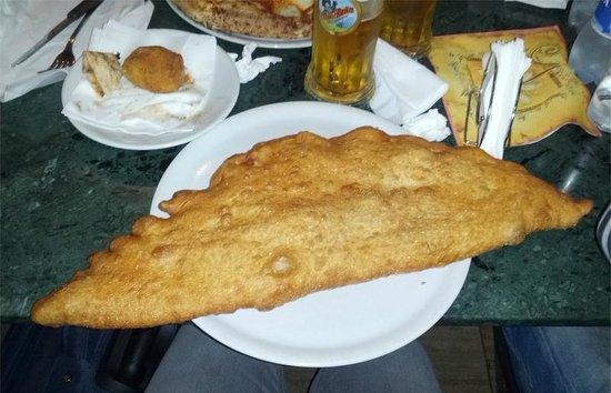 Da Pellone: Pizza fritta di Pellone