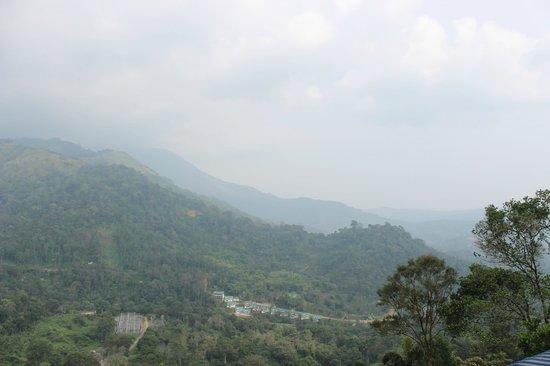 Blu Haze Resort & Spa : Morning valley view from room