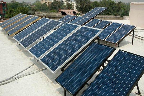 Herfa Inn: Solar panal