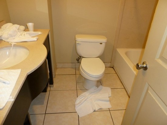 Americas Best Value Inn & Suites - Griffin : toilet area