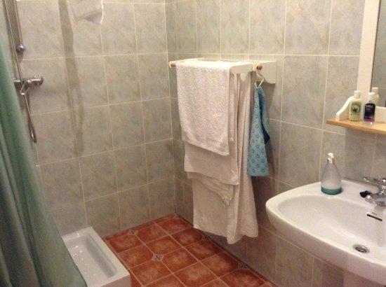 Casa Almendro: Bathroom with shower