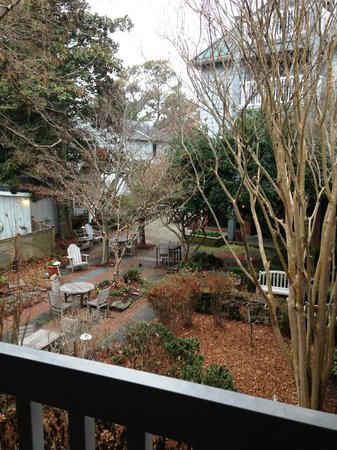 The Bellmoor Inn and Spa: View from Garden Room