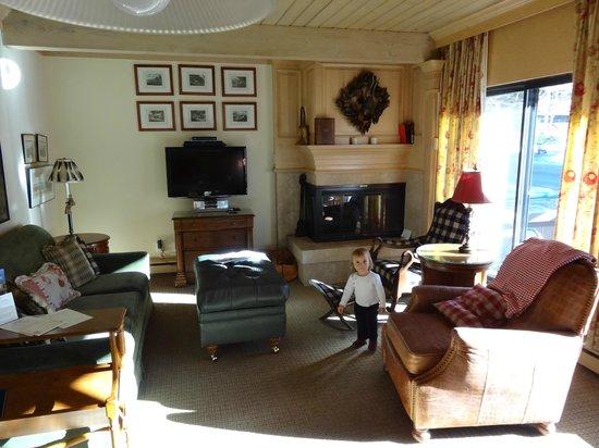 Aspen Square Condominium Hotel : View of the ground room
