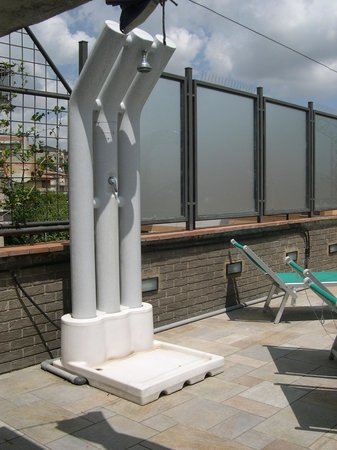 Hermitage Hotel: Terrazzo con solarium