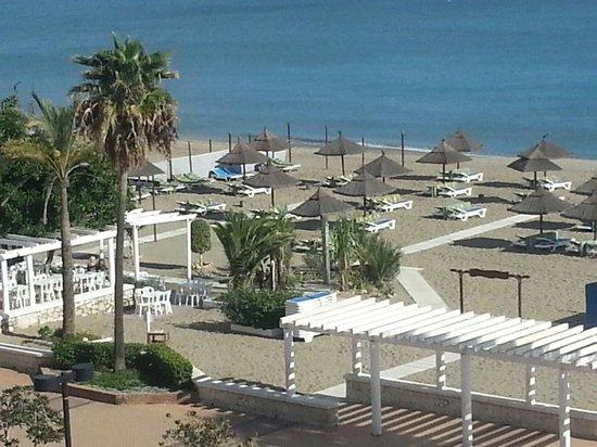 Apartamentos La Jabega: Ons uitzicht vanaf het balkon