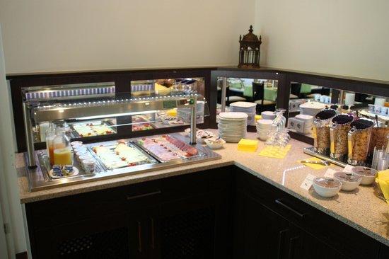 Hotel Da Vinci : Frühstücksbuffet