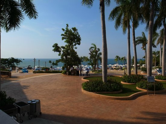 Royal Cliff Beach Hotel : View from Panaroma