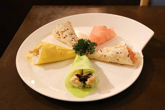 Gen Restaurant: 6 temaki diversi