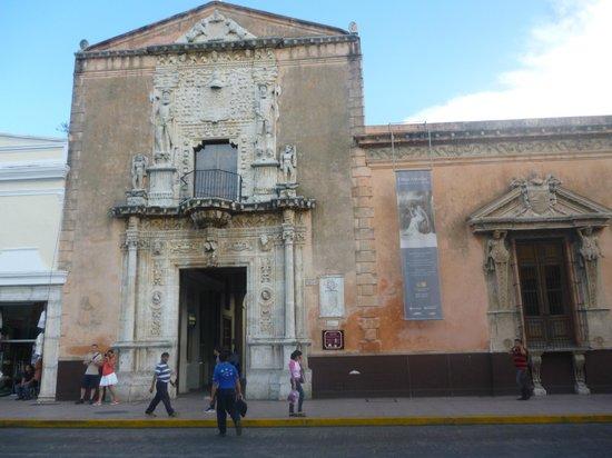Foto de museo casa montejo m rida fachada en piedra casa montejo tripadvisor - Foto casa merida ...