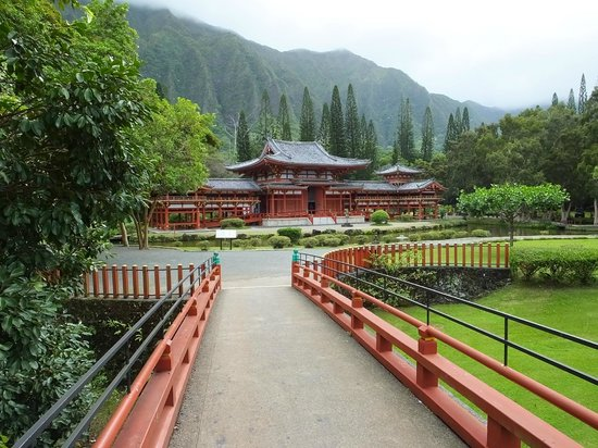 Byodo-In Temple: The Entrance..!