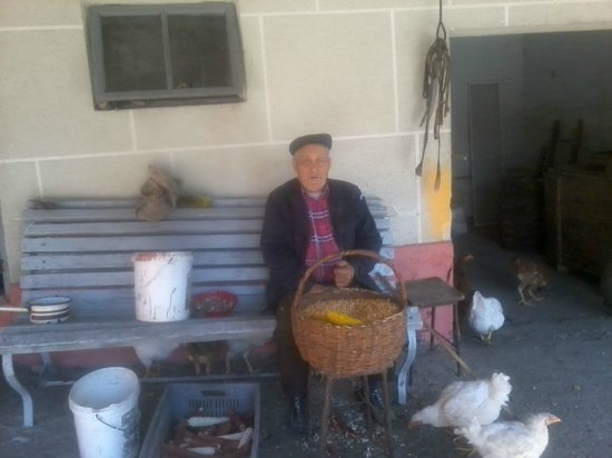 Arges County, Rumania: my grandfather