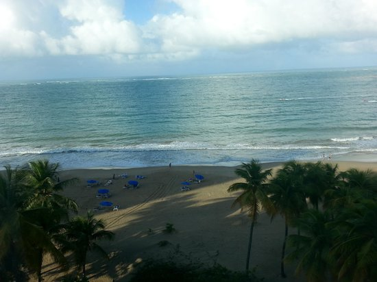San Juan Water & Beach Club Hotel: view from room