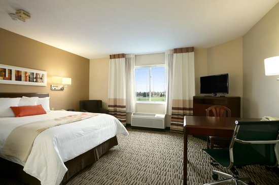 Hawthorn Suites by Wyndham Greensboro: Guest Room