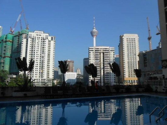 Hotel Soleil: Surrounding view from swimming pool