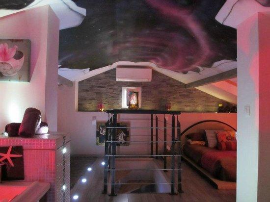 bastide le temps des secrets plafond et trompe loeil parfait tat chambre japur