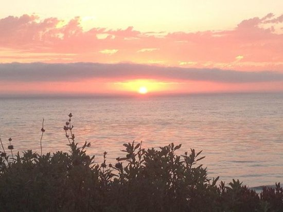 The Ritz-Carlton, Laguna Niguel: sunset from the hotel, over the ocean