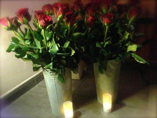 """Bastide Le Temps des Secrets : Une partie des 100 roses de l'option """"Parlez-moi d'Amour"""""""