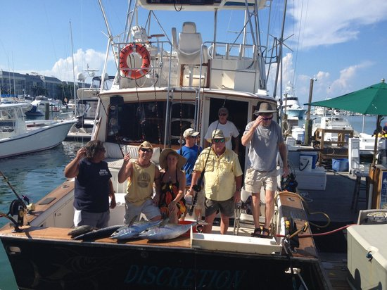 Discretion Sportfishing: The crew