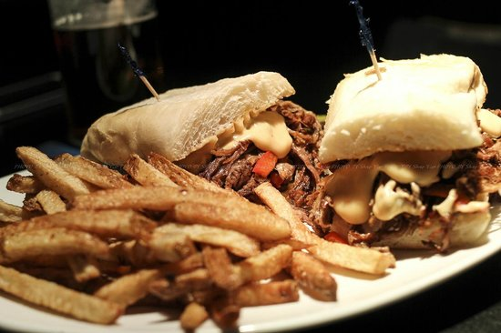 Atomic Grill: Brisket Philly