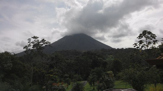 Hotel Kokoro Arenal : View from our cabin