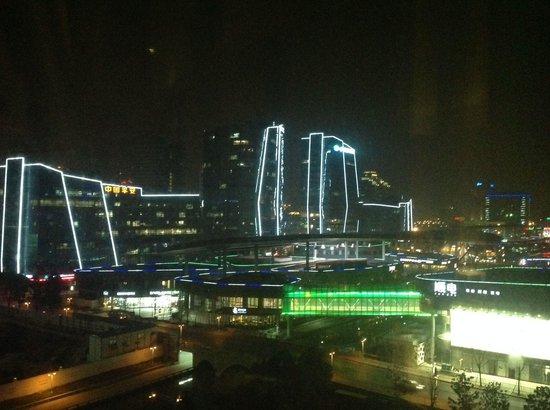 InterContinental Suzhou: Zimmerausblick nachts