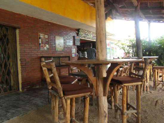 Pacha Tulum: la terrasse petit déjeuner