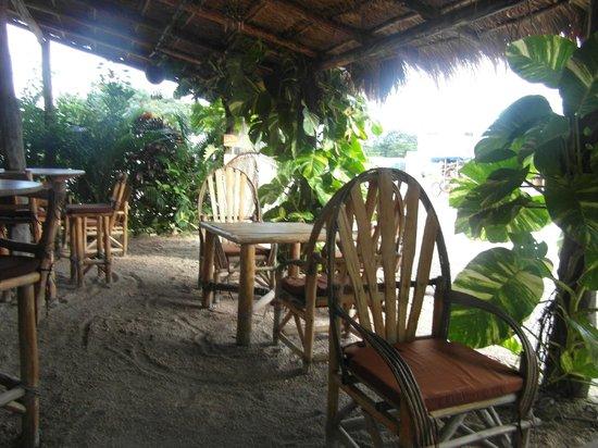 Pacha Tulum : la terrasse