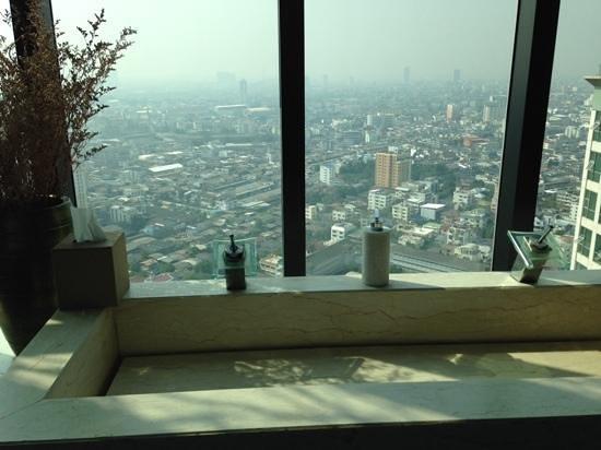 Anantara Sathorn Bangkok Hotel: udsigt fra club floor