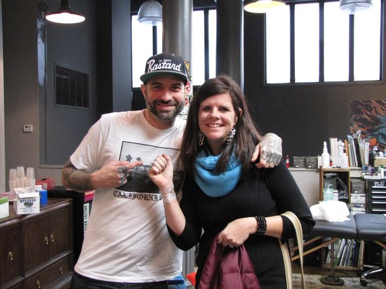 Real New York Tours: Tattoo at Wooster St Social Club