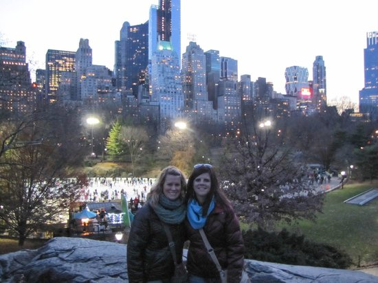 Real New York Tours: View of the city from Central Park was amazing!