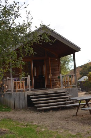 El Capitan Canyon: our cabin